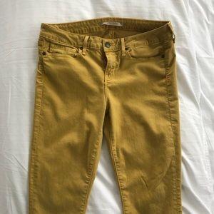 Vince 29 skinny citrine jeans